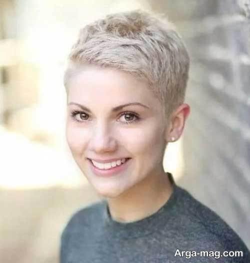 مدل مو کوتاه و زیبا زنانه