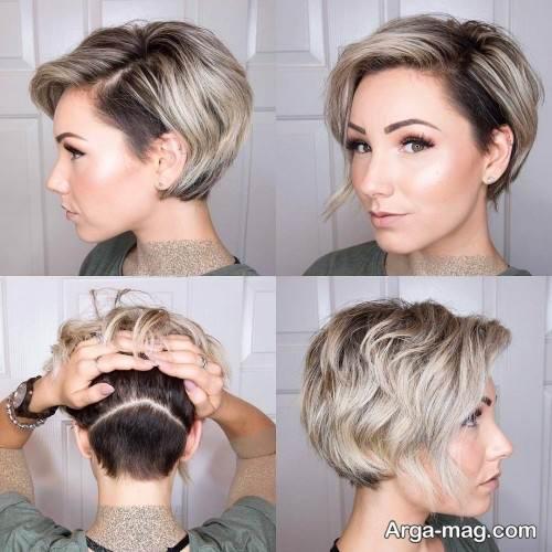 کوتاهی مو زنانه