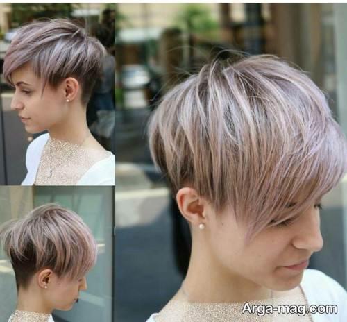 مدل مو کوتاه و زیبا پیکسی