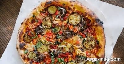 دستور تهیه و اماده سازی پیتزا گریل