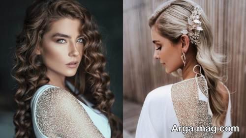 شینیون موی دخترانه و زنانه