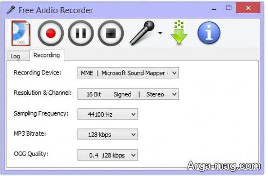 ثبت صدا در ویندوز