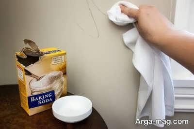 استفاده از مایونز برای پاکسازی دیوار