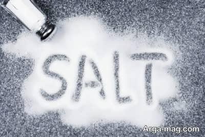 میزان نمک مصرفی و عوارض آن