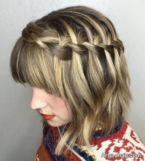 مدل موی نیمه کوتاه و زیبا