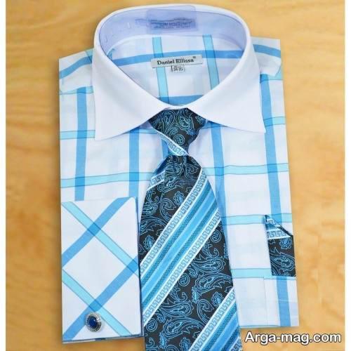 ست پیراهن مردانه طرح دار برای کراوات طرح دار