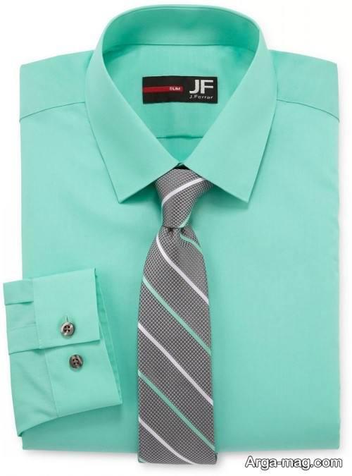ست زیبا و جذاب کراوات و پیراهن