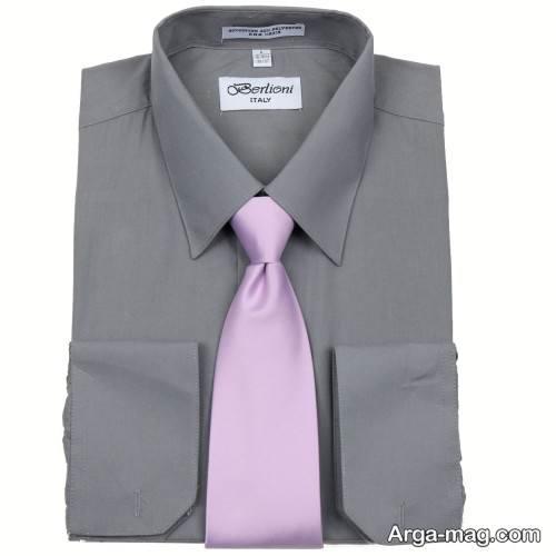 پیراهن و کراوات مردانه ساده