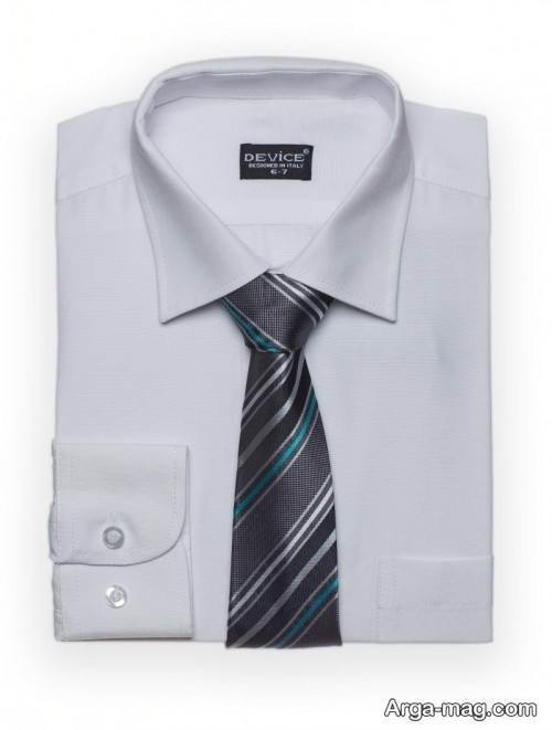 ست زیبا پیراهن و کراوات