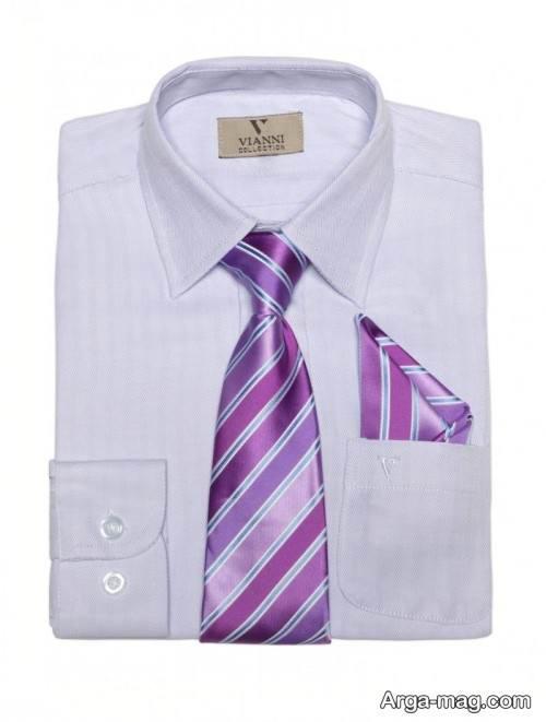 ست شیک پیراهن و کراوات مردانه