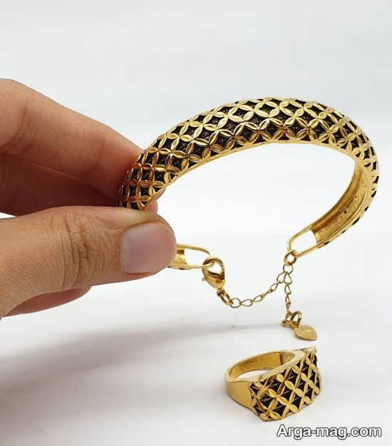 ست دستبند و انگشتر+تصویر
