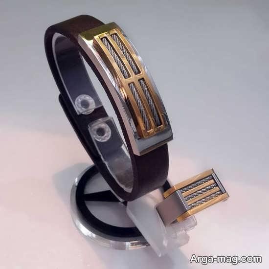 ست انگشتر با دستبند مردانه