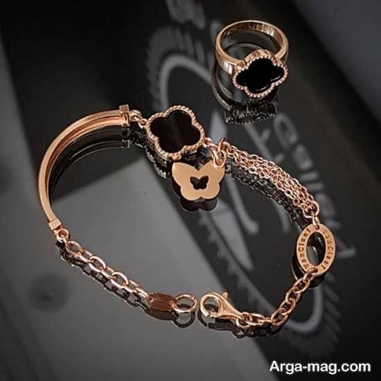 ست انگشتر و دستبند+عکس