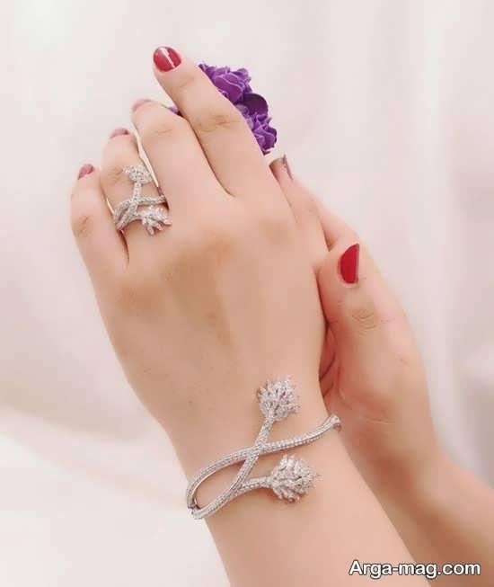 مدل ست انگشتر و دستبند