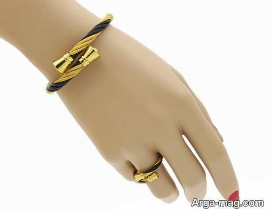 مدل جذاب انگشتر و دستبند