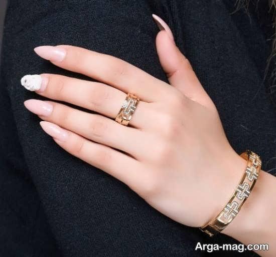 مدل انگشتر و دستبند