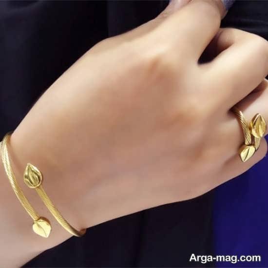 عکس ست انگشتر و دستبند