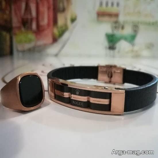 مدل جدید دستبند و انگشتر برای مردان