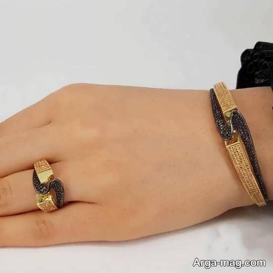 مدل لاکچری و جدید انگشتر و دستبند