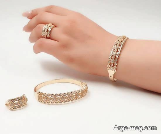 ست لاکچری جواهرات زنانه