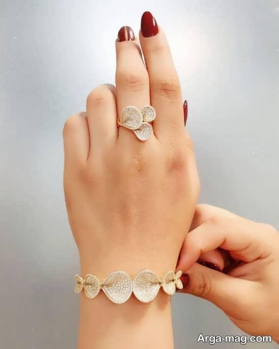 مدل انگشتر و دستبند+عکس