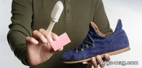 راهکار تمیز و براق کردن کفش