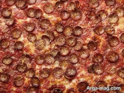 دستور تهیه پیتزا سیسیلی در منزل