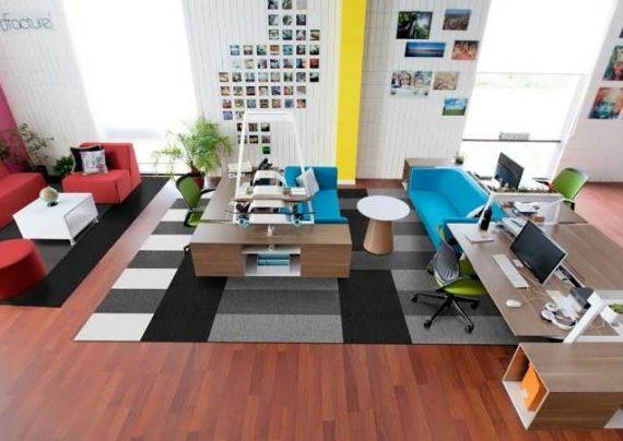 رنگ اتاق کار باید بتواند به شما روحیه بدهد