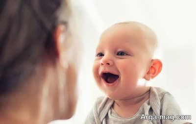 تاثیر حرف زدن با نوزاد