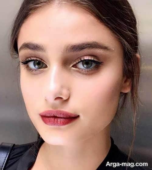 آرایش صورت دخترانه زیبا