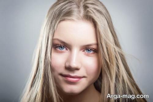 آرایش ملایم دخترانه