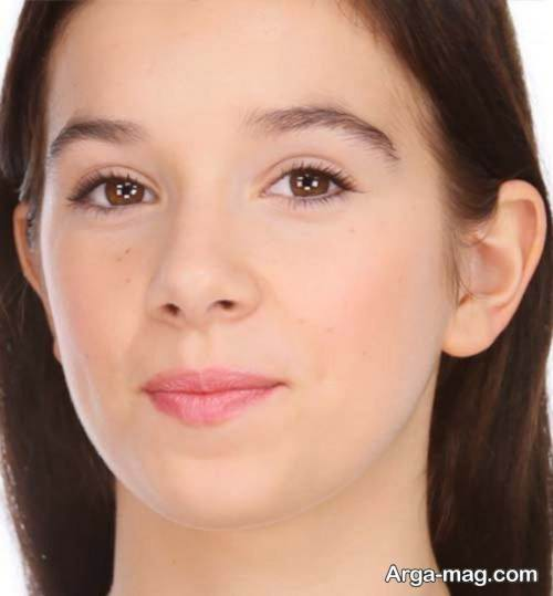 مدل آرایش صورت نوجوان