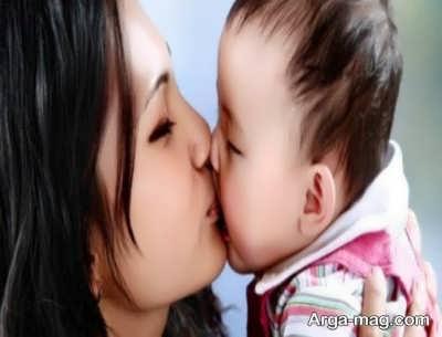 معرفی بیماری های مربوط به بوسه نوزاد
