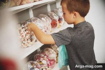 دزدی کردن در کودکان