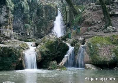 دیدنی های آبشارهای لوه