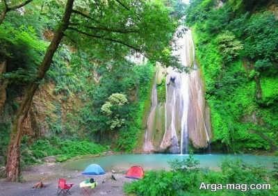 آبشار با شکوه لوه