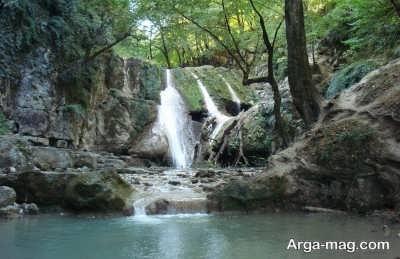 لوه و آبشارهای زیبایش