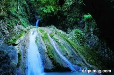 آبشارهای زیبای لوه