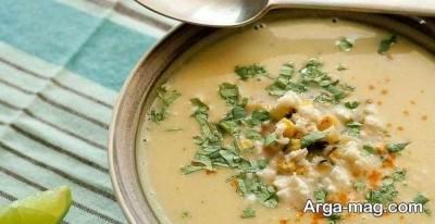 سوپ سفید آلمانی