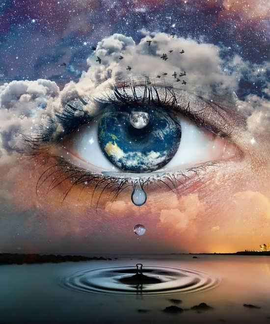 عکس پروفایل چشم خاص و لاکچری برای واتساپ