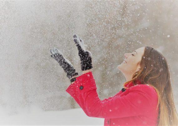 انواع جدید ژست عکس زمستانی