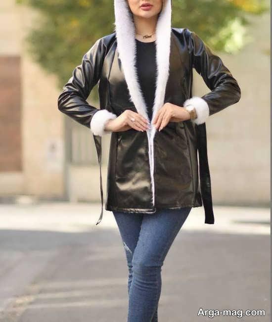 مدل هودی زنانه پشمی جدید