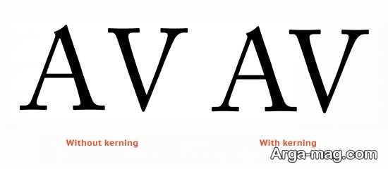 فاصله حروف و کلمات در ورد