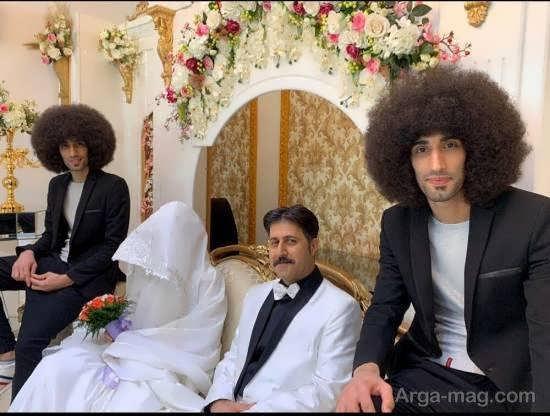صحنه جالب عروسی رحمت یکی از کاراکتر اصلی پایتخت