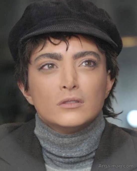 چهره متفاوت بهنوش طباطبایی با گریم پسرانه در«روزهای رادیو»