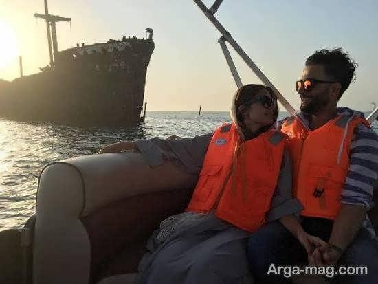 احساس دلتنگی بنیامین بهادری برای همسرش شایلی