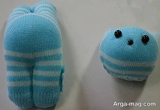 خلاقیت دوست داشتنی با جوراب