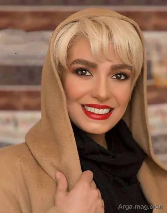 تغییر چهره ی الیکا عبدالرزاقی با موهای بلوند/عکس