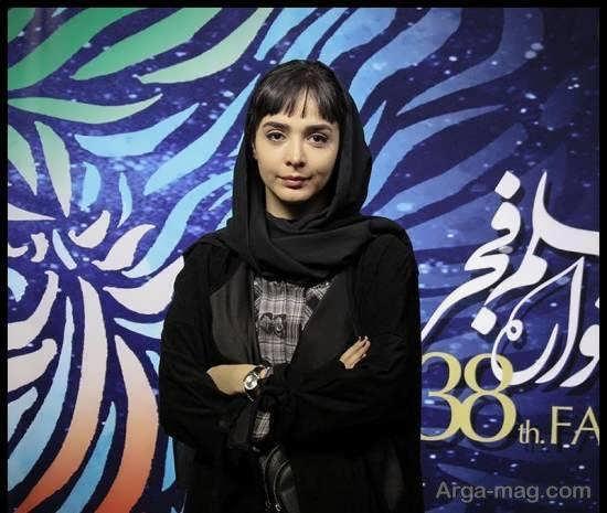 المیرا دهقانی با پوشش و چهره ای دوست داشتنی در جشنواره فیلم فجر/عکس