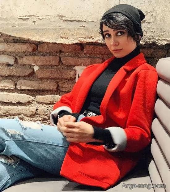 ژست جالب الناز حبیبی در عکس جدیدش